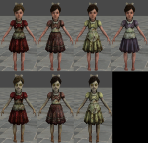 BioShock Little Sister Cosplay - Part 1: The Dress - Geeky ...  Bioshock